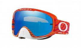 MOTOKROSOVÉ BRÝLE - OAKLEY O Frame 2.0 MX Troy Lee Designs Goggle BRIGHT ORANGE / ICE IRIDIUM + CLEAR - OO7068-22