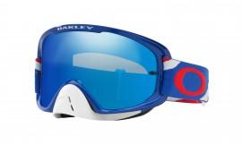 MOTOKROSOVÉ BRÝLE - Oakley O Frame 2.0 MX Heritage Racer Goggle Dark Blue/ice iridium + CLERAR - OO7068-23
