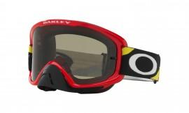 MOTOKROSOVÉ BRÝLE - Oakley O Frame 2.0 MX Heritage Racer Goggle Bright Red/dark gray - OO7068-24