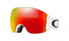 LYŽAŘSKÉ BRÝLE - Oakley Airbrake XL Snow Goggle Polished White/prizm snow torch iridium - OO7071-08