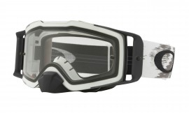 Oakley Front Line MX Goggle Matte White/clear - OO7087-05