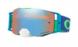 MOTOKROSOVÉ BRÝLE - Oakley Front Line MX Goggle Flo Lime Blue/prizm mx sapphire - OO7087-11