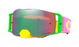 MOTOKROSOVÉ BRÝLE - Oakley Front Line MX Goggle Pink Yellow/prizm mx jade iridium - OO7087-12