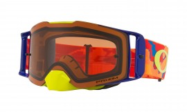 Oakley Front Line MX Goggle Thermo Camo Orange Red/prizm mx bronze - OO7087-14