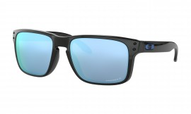 Oakley Holbrook™ PRIZM™ Deep Water Polarized Polished Black/prizm deep water polarized - OO9102-C1