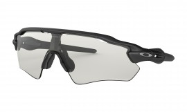 Oakley Radar® EV Path® Steel/clear black iridium photochromic activated - OO9208-13