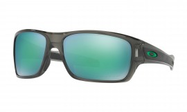 Oakley Turbine™ Gray Smoke/jade iridium polarized - OO9263-09