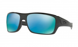 Oakley Turbine Polished Black/prizm deep water polarized - OO9263-14