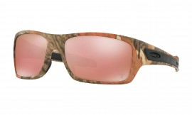 Oakley Turbine™ King's Camo Edition WOODLAND CAMO/vr28 black iridium - OO9263-28