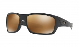 Oakley Turbine™ Matte Black/prizm tungsten polarized - OO9263-4063