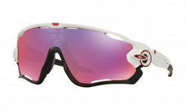 Oakley Jawbreaker Polished White/prizm road - OO9290-05