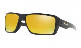 Oakley Double Edge Polished Black/24k iridium - OO9380-0266