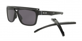 Oakley Crossrange Patch Polished Black/warm gray - OO9382-0160
