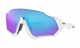 Oakley Flight Jacket POLISHED WHITE/prizm sapphire - OO9401-0237