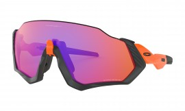 Oakley Flight Jacket Neon Orange/prizm trail - OO9401-0437