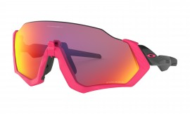 Oakley Flight Jacket NEON PINK/prizm road - OO9401-0637
