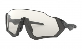 OCHRANNÉ SPORTOVNÍ FOTOCHROMATICKÉ SLUNEČNÍ BRÝLE - OAKLEY FLIGHT JACKET - GRAY INK / CLEAR-BLACK IRIDIUM PHOTOCHROMIC - OO9401-0737